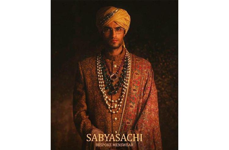 Sabyasachi mens wear