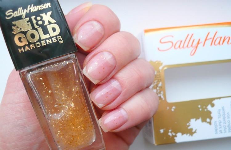 Sally Hansen's 18k Gold Hardener