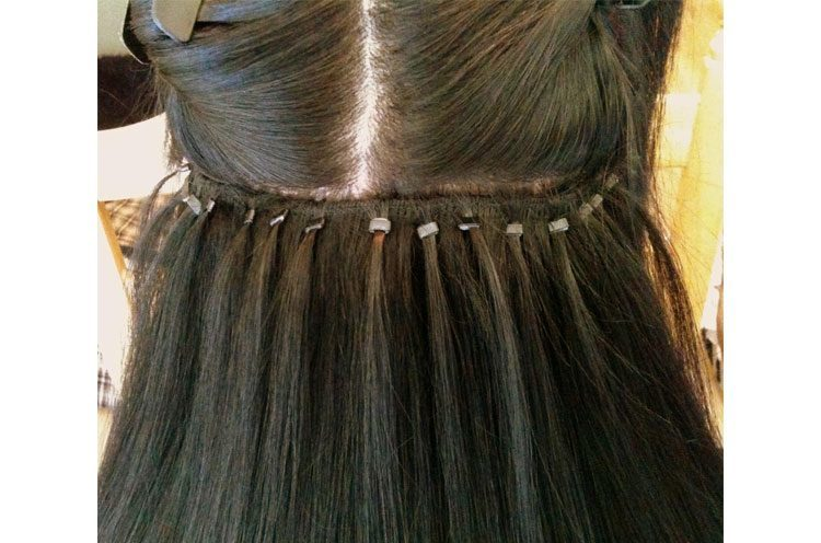 Hair extensions 101 different types of hair extensions sew in hair extensions pmusecretfo Images