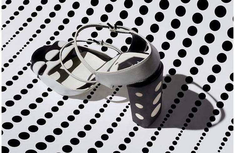 Silk mule sandals