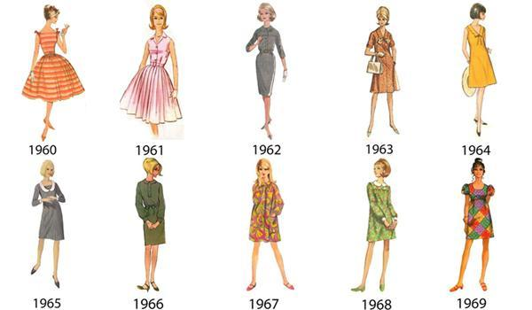Sixties Fashion Styles Reinvented For 2015