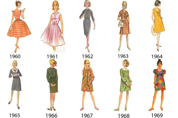 Sixties Fashion Styles