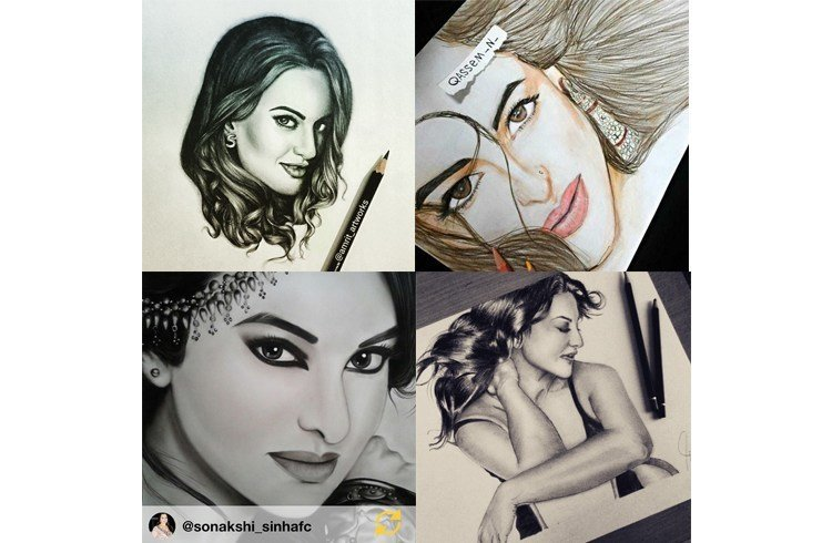 Sonakshi fan art