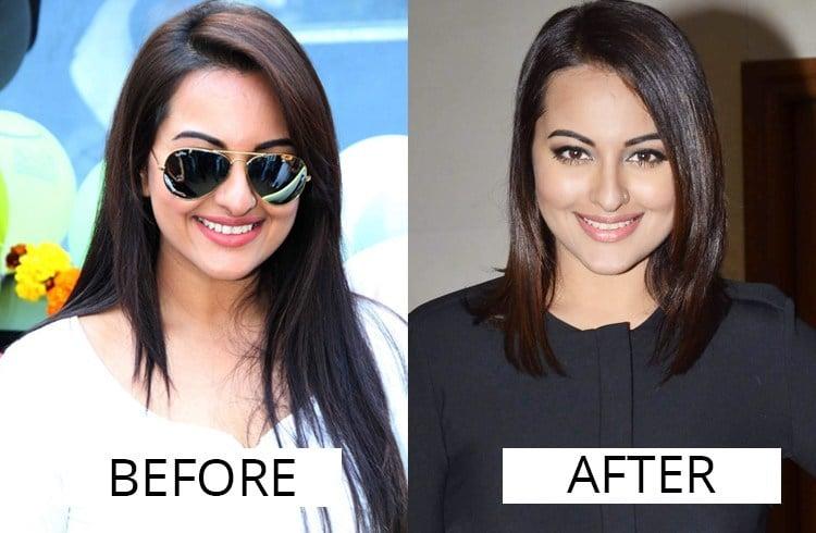Sonakshi Sinha hair makeover