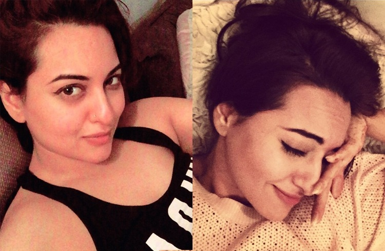 Sonakshi no makeup selfies