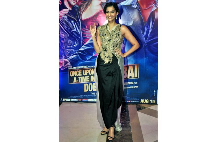 Sonam Kpoor at iftar party