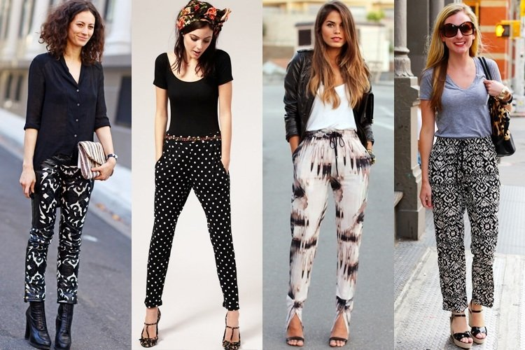Style Patterned Pants