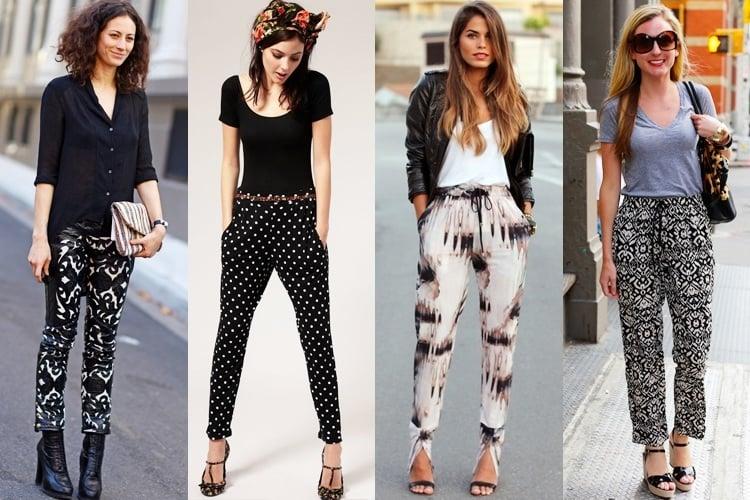 Style Patterned Pants