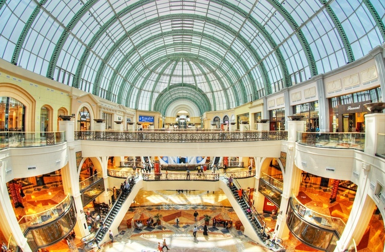 The Mall of the Empires Shopping city