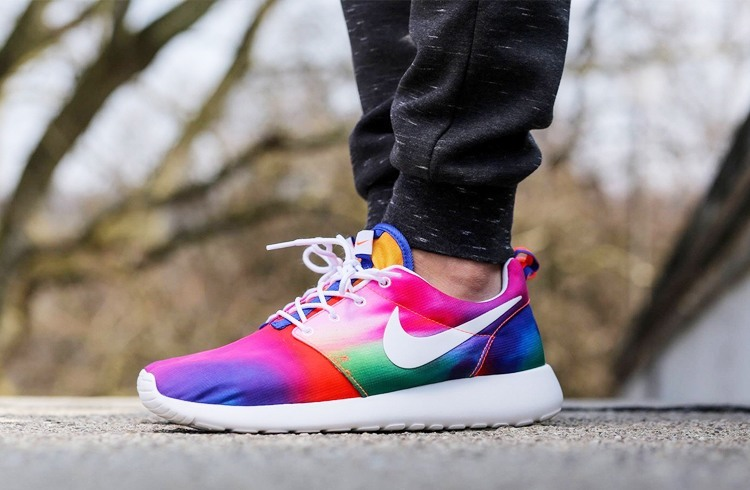 Tie And Dye Converse Shoes