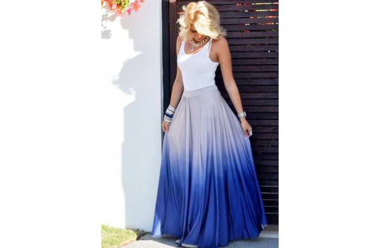Tie And Dye Skirt fashion
