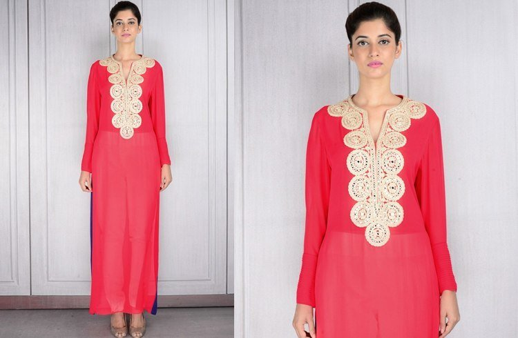 Tunics designed by Manish Malhotra