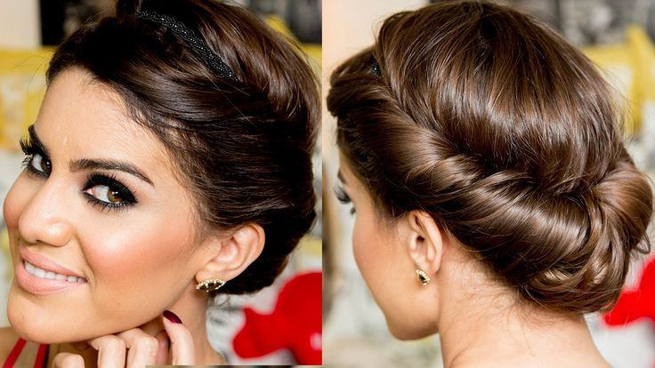 Elegant Twisted hairstyle