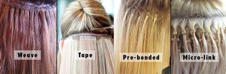 Different Type Of Hair Extension 95