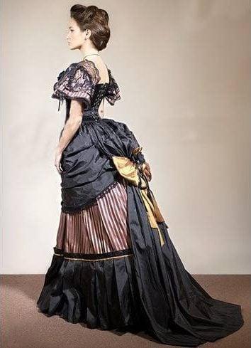 Victoria vintage gown