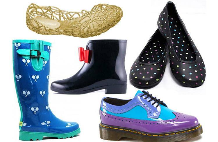 Waterproof footwear for women