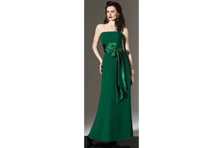 wedding bridesmaid dresses green