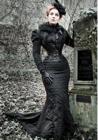 Whittled waist gowns