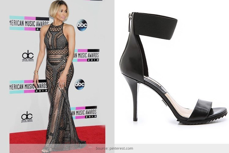 How to Wear Ankle Strap Heels - Celebrity Inspiration