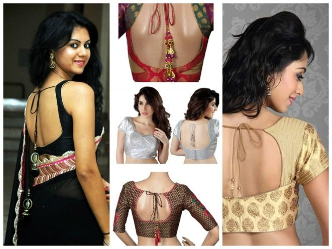 Blouse Designs for the Wedding Trousseau