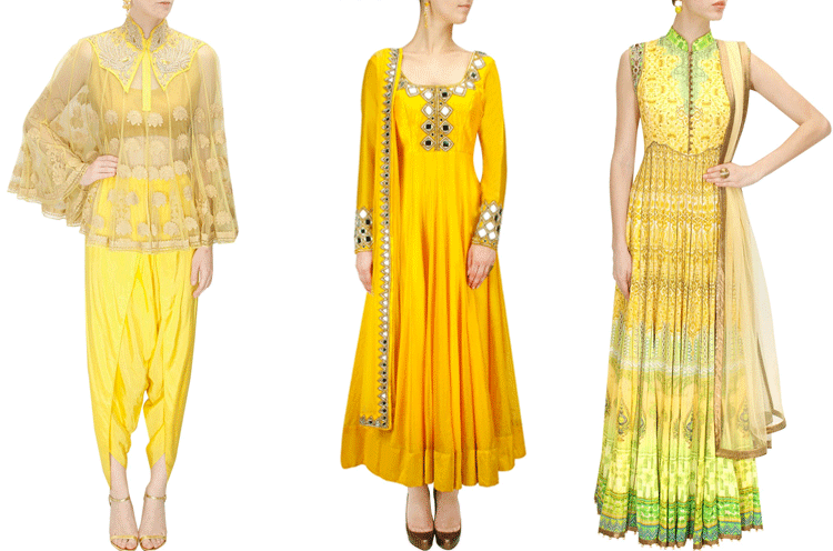 Wedding Outfit Ideas For Haldi The Never Before Haldi