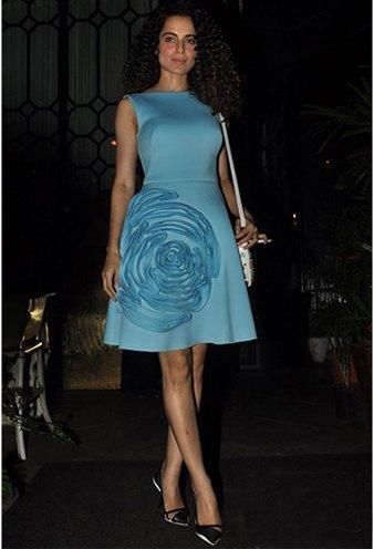 Kangana Ranaut Gauri and Nainika dress