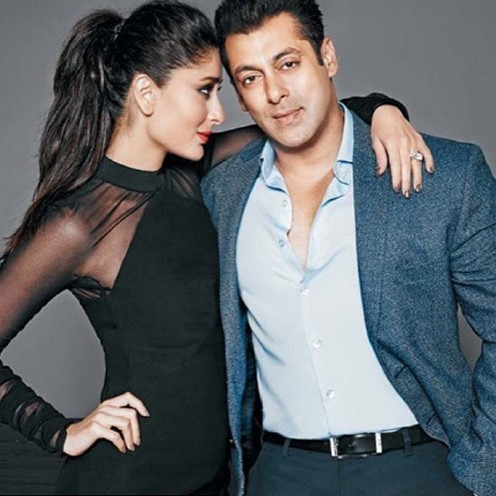 KareenaKapoor and SalmanKhan on Filmfare