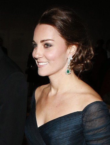 Kate Middleton Updo Hairstyle