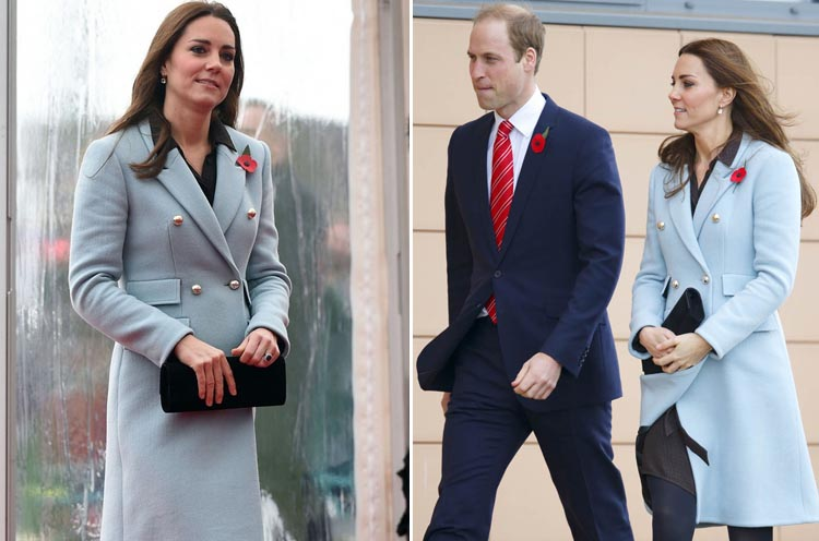 Kate Middleton famous Coat Styles
