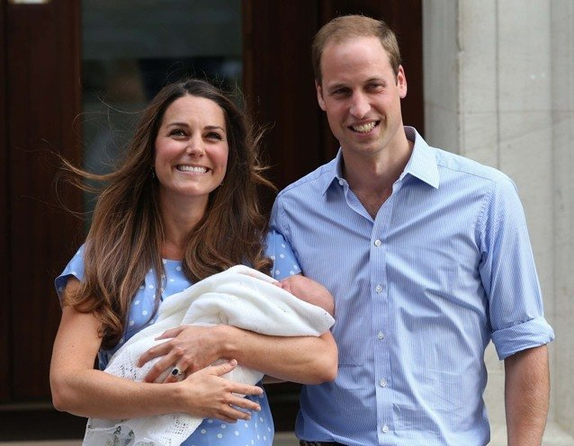 Kate Middletons Prince George