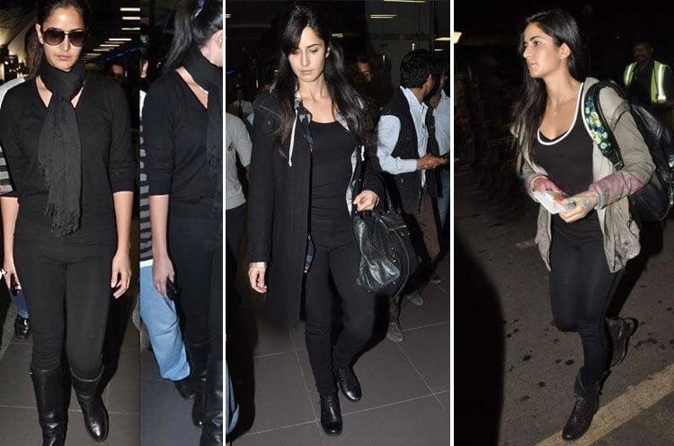 Katrina Kaif airport styles