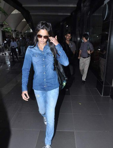 Katrina Kaif in Denim style
