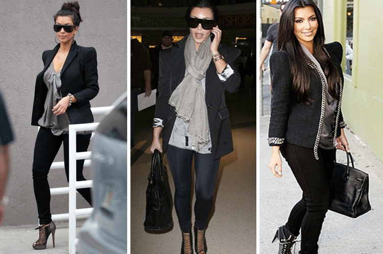 Does Kim Kardashian Only Own A Handful Of Outfits