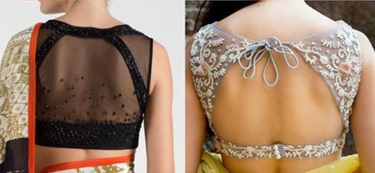 Latest Backless Blouses