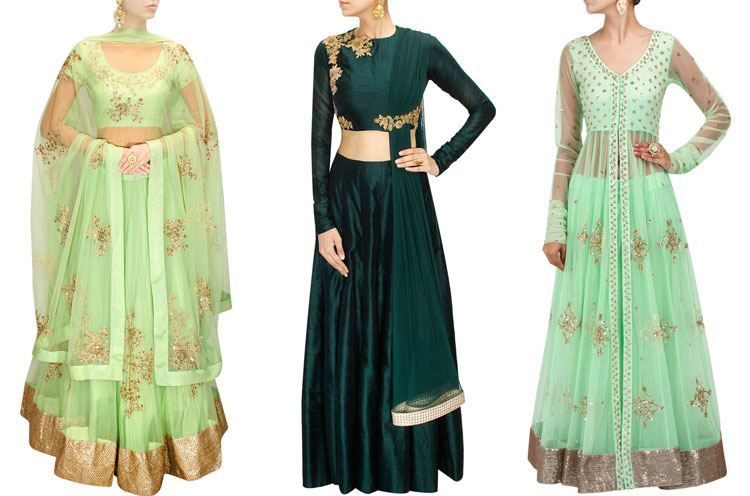 Lehenga For Mehndi Ceremony : What to wear a mehndi ceremony
