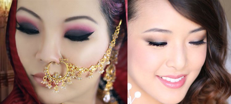 Monolid Bridal Makeup