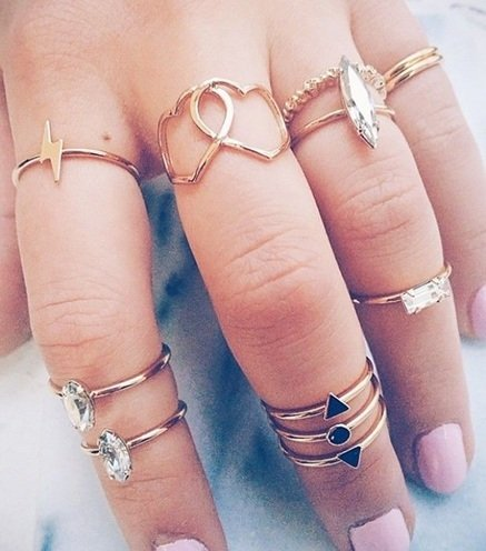 Popular items for teenage girl rings