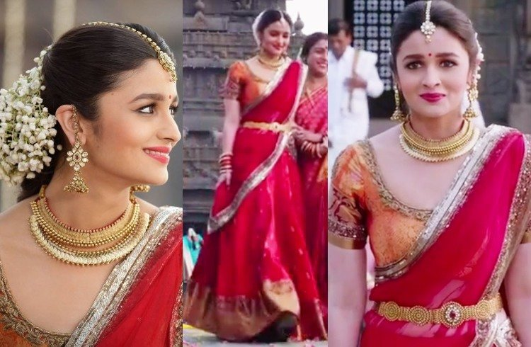 Alia Bhatt in south Indian bridal look