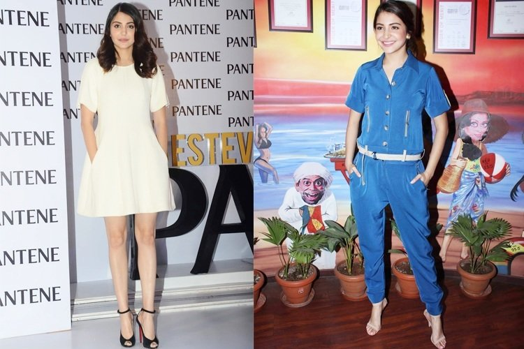 Anushka Sharma in Dior white dress