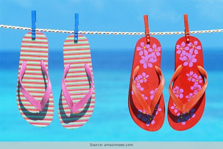 Avoid Wearing Flip Flops