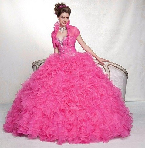 Ball gowns with sweet whisperings