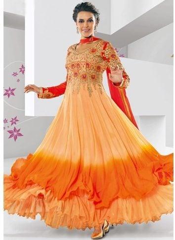 Begum style anarakli dress