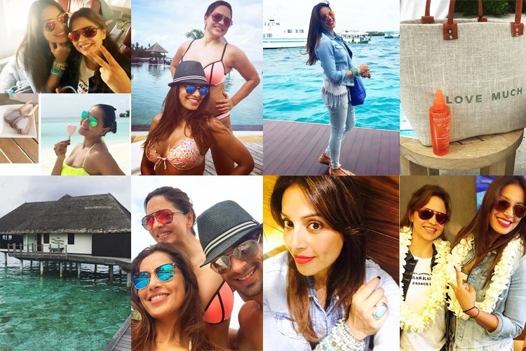 Bipasha Basu holiday