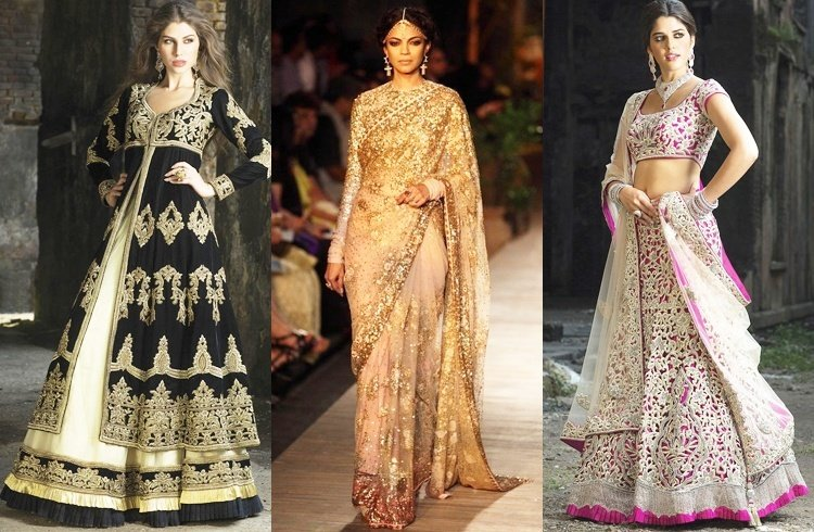 Bridal Sarees and Bridal Lehengas