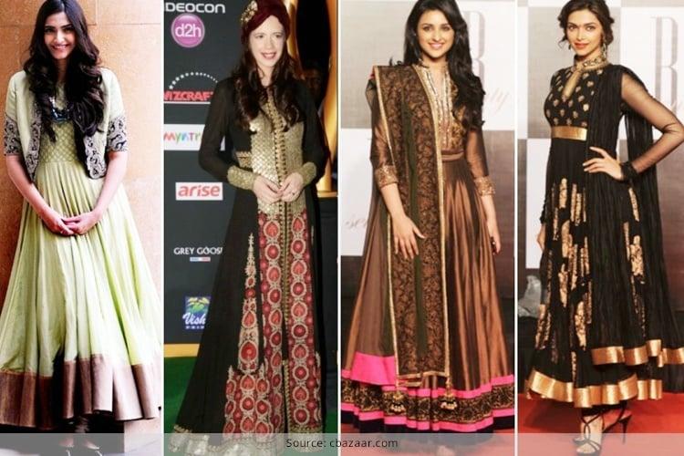 Anarkali Dresses for Eid Festivities