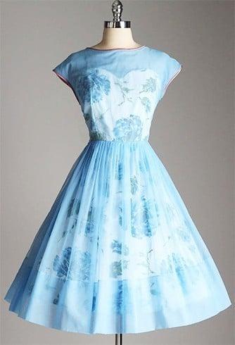 Chiffon dress for work