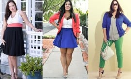 Color Blocking Tips for Curvy Girls