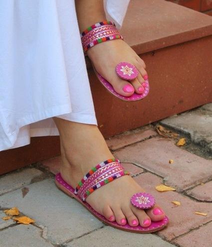 cute Kolhapuris for a teenage girls