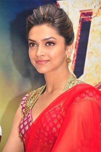 Deepika Padukone's Bun Hairstyles
