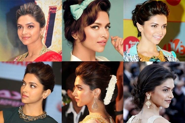 Deepika Padukone's Hairstyles